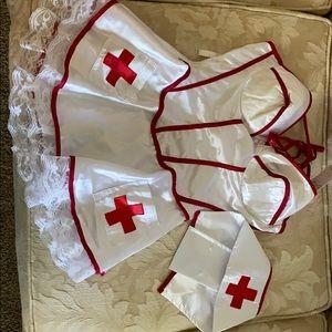 Jolie nurse lingerie/costume